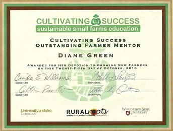 cultivating success award